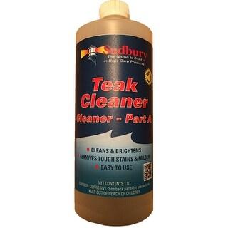 Sudbury Teak Cleaner Part A - Quart Teak Cleaner