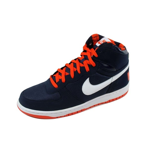 Nike Men's Big Nike High Black/Black-Gorge Green-Team Orange 336608-413