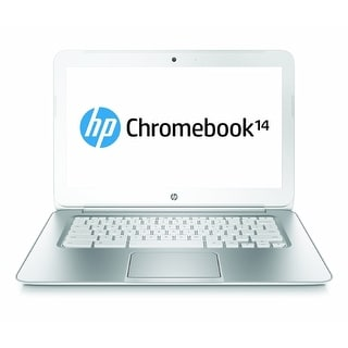 "HP 14-ak013dx 14"" Chromebook Intel Celeron N2840 2.16GHz 2GB 16GB Chrome OS"