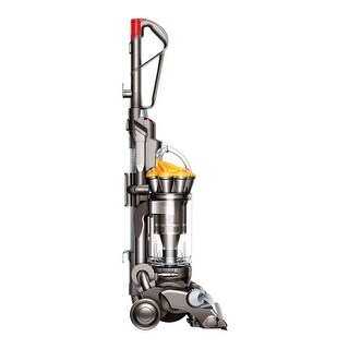 Refurbished Dyson DC33 Multi Floor Upright Bagless Vacuum - yellow/iron