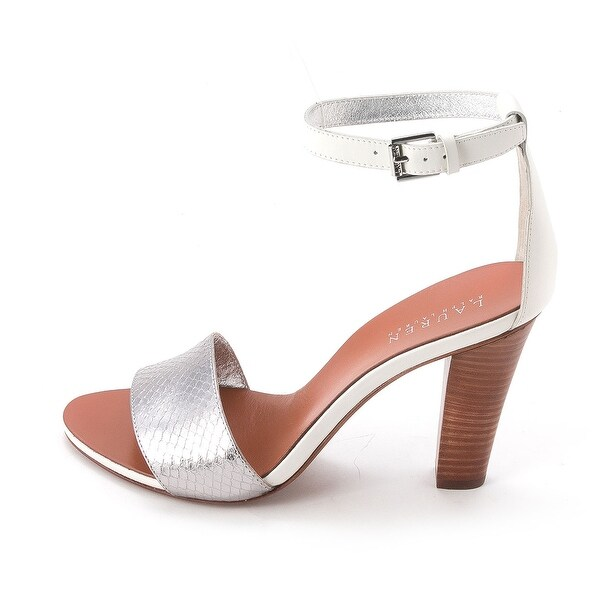 LAUREN by Ralph Lauren Womens LEAH Open Toe Casual Slingback Sandals