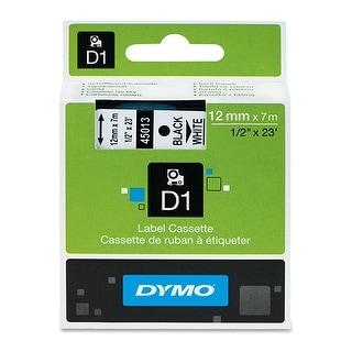 Dymo 45013M LABEL - DYMO BLACK PRINT or WHITE TAPE