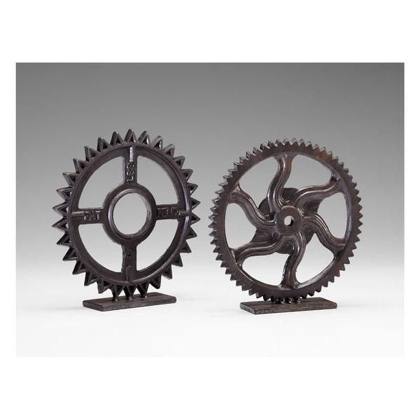 """Cyan Design 4731 11"""" Gear Sculpture"""