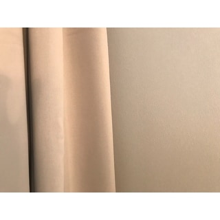 Ati Home Sateen Woven Blackout Curtain Panel Pair With
