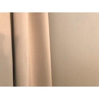 Porch & Den Bolling Sateen Woven Blackout Curtain Panel Pair