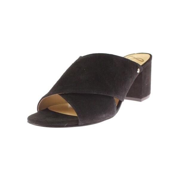 c60730192344 Shop Sam Edelman Womens Stanley Slip-On Shoes Block Heel - Free ...