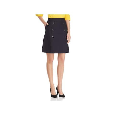 Hugo Boss Womens Valareama A-Line Skirt Sailor A-Line