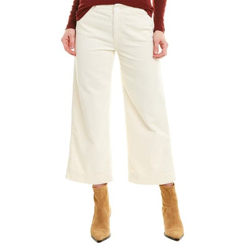 Ag Jeans Etta Ivory Crop