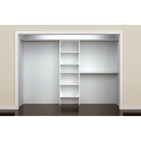 ClosetMaid SuiteSymphony 25 in. Closet Organizer with Shelves