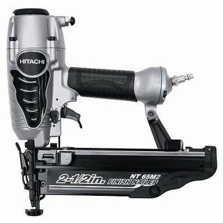 "Hitachi NT65M2(S) Finish Nailer with Air Duster, 2-1/2"", 16-Gauge"
