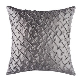 100% Handmade Imported Kite in the Sky Pillow Cover, Silver