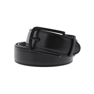 Steve Madden Mens Casual Belt Faux Leather Reversible