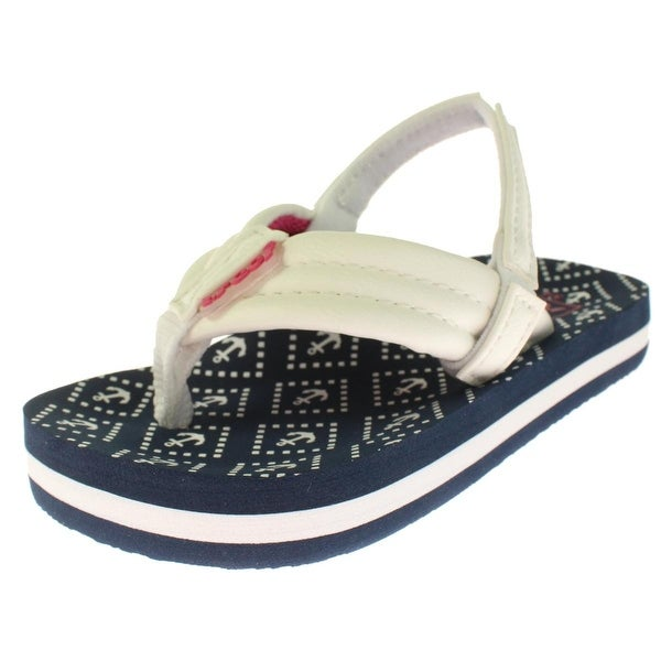 cc4e18b6643e Shop Reef Girls Little Ahi Sandals Toddler Printed - Free Shipping ...