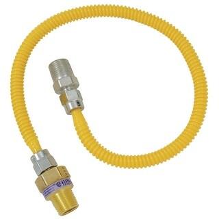 BrassCraft 1/2X3/8-48 Gas Connector
