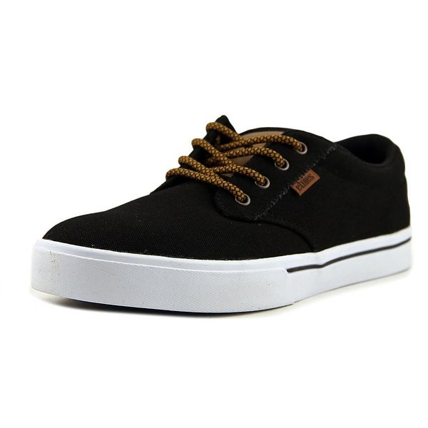 Etnies Jameson2 Eco Men Round Toe Canvas Black Skate Shoe