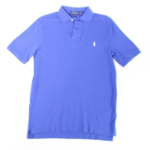 Blue Small Mens Ralph S Fit Shirt Lauren Rugby Polo Classic 4AjL5qR3