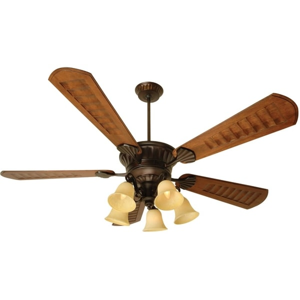 "Craftmade K10685 DC Epic 70"" 5 Blade Ceiling Fan - Blades, Remote and Light Kit Included"