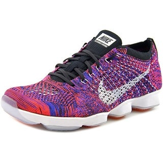 Nike Flyknit Zoom Agility   Round Toe Synthetic  Running Shoe