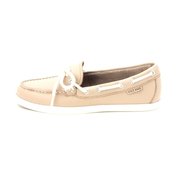 Cole Haan Womens W02516 Closed Toe Boat Shoes - twine - 6