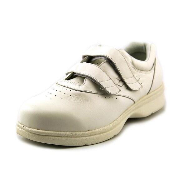 Propet Vista Walker Strap Women White Walking Shoes