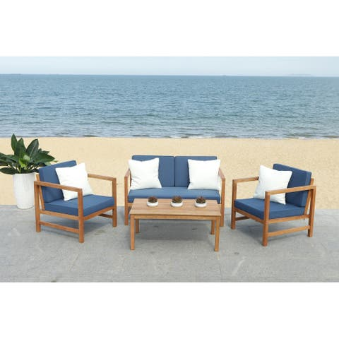 Buy Safavieh Outdoor Dining Sets Online at Overstock | Our ... on Safavieh Outdoor Living Horus Dining Set id=60460
