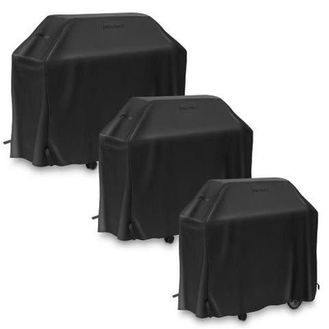 BBQ Grill Covers by Pure Grill - Black
