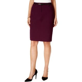 Calvin Klein Womens Petites Pencil Skirt Back Slit Knee-Length|https://ak1.ostkcdn.com/images/products/is/images/direct/c7c20bab92ee9aac61e676c301149a65076cbfe5/Calvin-Klein-Womens-Petites-Pencil-Skirt-Back-Slit-Knee-Length.jpg?impolicy=medium