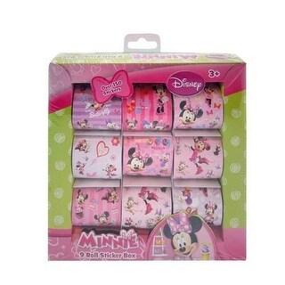 Minnie Mouse Bowtique 9 Roll Sticker Box - Disney Sticker Set