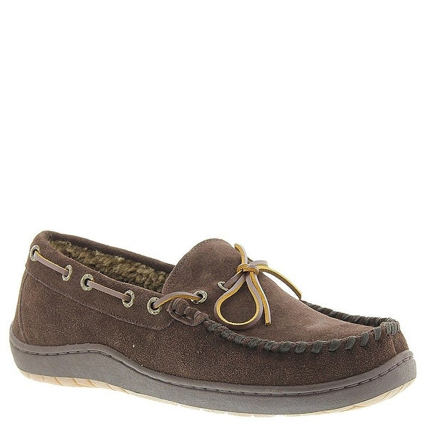Tempur-Pedic Mens Therman Leather Square Toe Moccasins