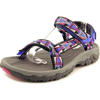 Teva Hurricane XLT Women Open-Toe Canvas Black Sport Sandal