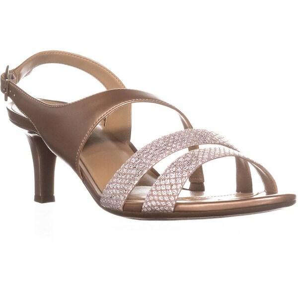 naturalizer Taimi Comfort Dress Sandals, Cream/Gingersnap - 10 w us