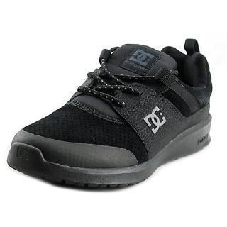 DC Shoes Heathrow Pres Round Toe Leather Skate Shoe