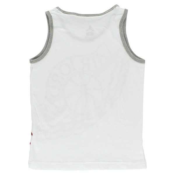 Jordan Boys Wings Tank Top White