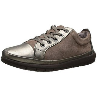 Easy Spirit Womens Canisa Metallic Oxfords