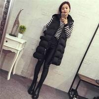 Womens Plus Size Hoodie Waistcoat Vest Gilet Jacket Coat Parka Outwear