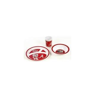 Bsi Products Inc Alabama Crimson Tide Kids 3 Pc. Dish Set Dish Set