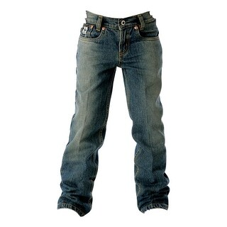 Cinch Western Denim Jeans Boys Slim 5 Pocket Lowrise