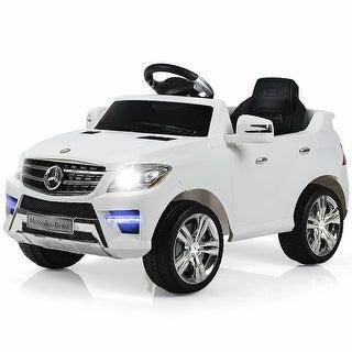 Costway Mercedes Benz ML350 6V Electric Kids Ride On Car Licensed MP3
