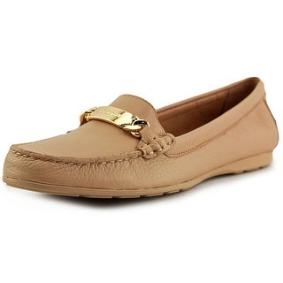 Coach Olive Women  Round Toe Leather Tan Loafer
