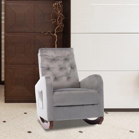 Rocking Chair Nursery Chair Modern Armchair