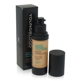 Youngblood Liquid Mineral Foundation Sun Kissed 1 Ounce