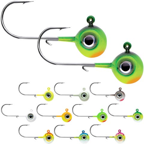VMC 1/32 oz. Neon Moon Eye Jig - 2 Pack - 1/32 oz.