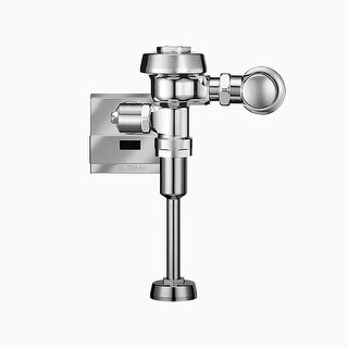 """Sloan 186-0.125ESSDBP Eco Friendly (0.125 gpf) Exposed, Hardwired, Sensor Operated Urinal Flushometer for 3/4"""" Top Spud Urinals"""