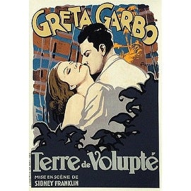 ''Terre de Volupte (Wild Orchids)'' by H. Armengol Movie & TV Posters Art Print (16.5 x 11.5 in.)