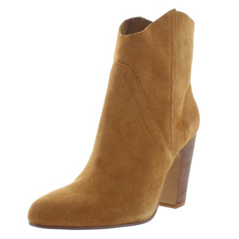 Vince Camuto Womens Creestal Ankle Boots Suede Booties