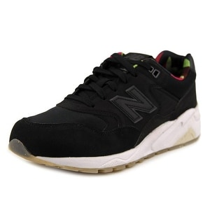 New Balance RT580 Women Round Toe Leather Black Running Shoe