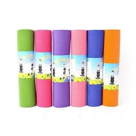 "6mm Thickness Non-Slip Yoga Mat Exercise Fitness Lose Weight 68""x24""x0.24"" Random Color"