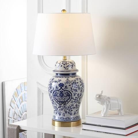 "SAFAVIEH Lighting Ariadne 28-inch LED Table Lamp (Set of 2) - 16""x16""x28"""