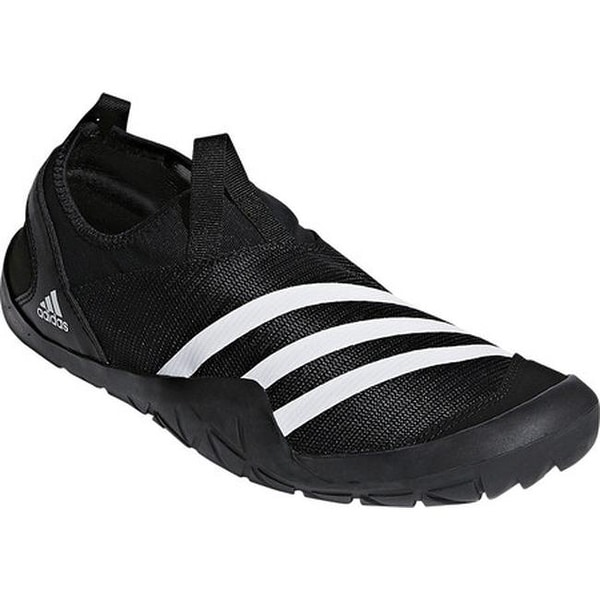 ae77cf851b2f Shop adidas Men s Climacool Jawpaw Slip On Water Shoe Black White ...