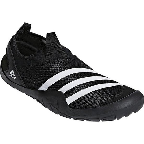 0dc2a5f1299e1 Shop adidas Men s Climacool Jawpaw Slip On Water Shoe Black White ...
